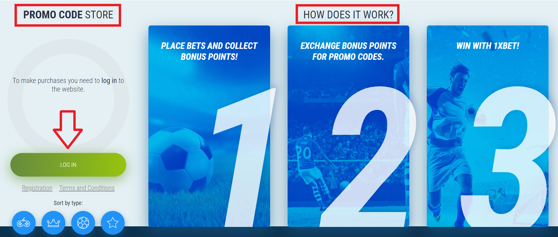What is the 1xBet Promo Code?