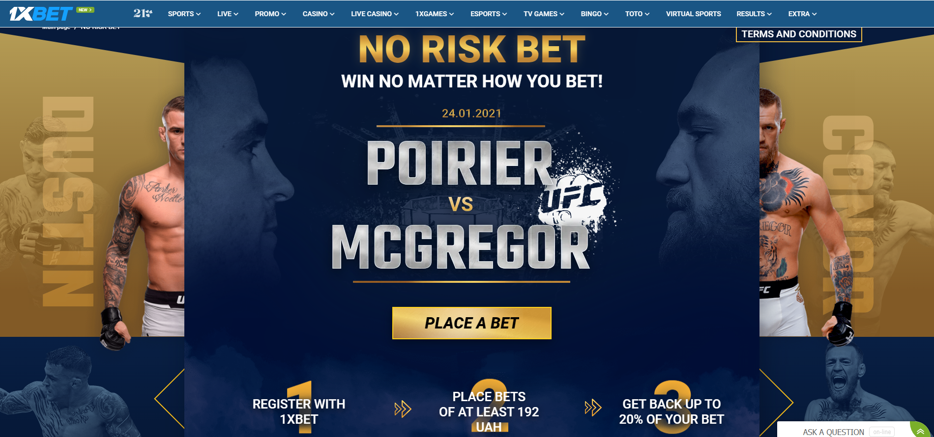 1xBet Sportsbook Review official site